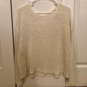‼️SALE‼️ Forever 21 Cream Sweater w/ Crossed Back